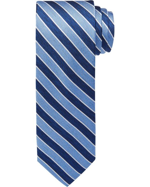 Jos. A. Bank | Blue 1905 Collection Thin Stripes Tie for Men | Lyst
