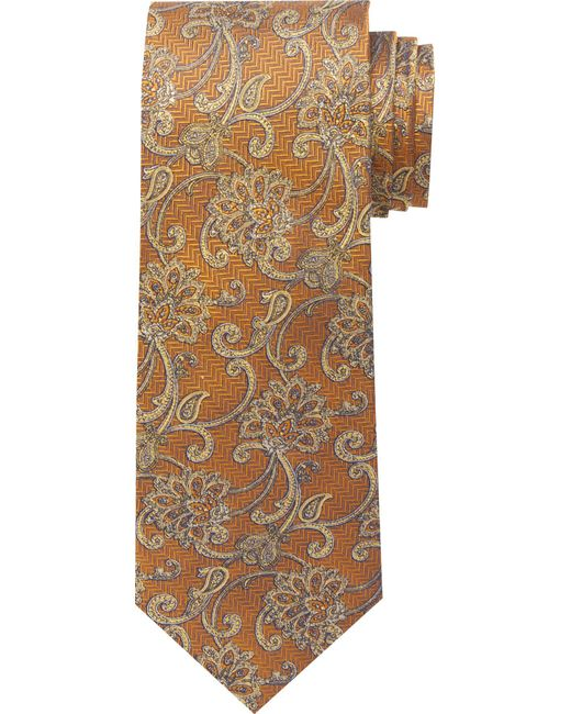 Jos. A. Bank - Metallic Reserve Collection Textured Ornate Tie for Men - Lyst