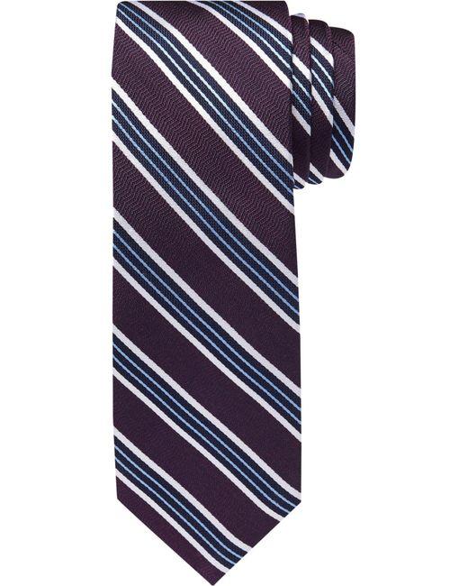 Jos. A. Bank - Purple 1905 Collection Stripe Tie for Men - Lyst