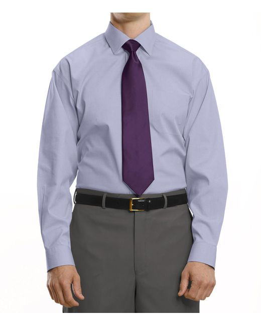 Jos a bank traveller collection tailored fit spread for Spread collar dress shirt without tie