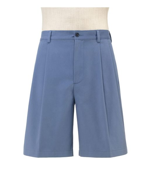 Jos. A. Bank - Blue Stays Cool Traditional Fit Pleated Front Shorts for Men - Lyst
