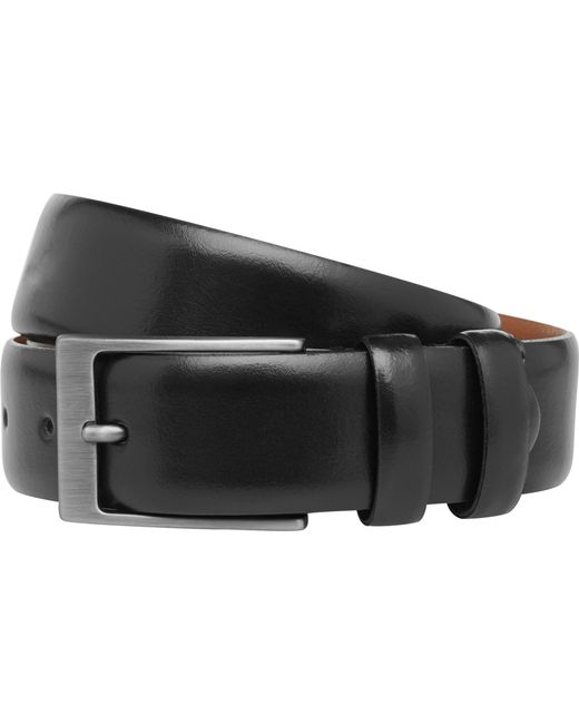 Jos. A. Bank - Black Leather Dress Belt Big And Tall for Men - Lyst