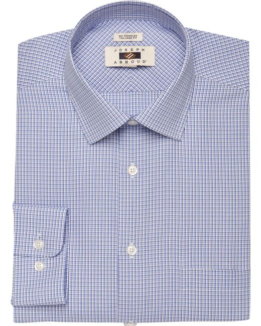 Jos a bank joseph abboud tailored fit point collar mini for Joseph banks dress shirts