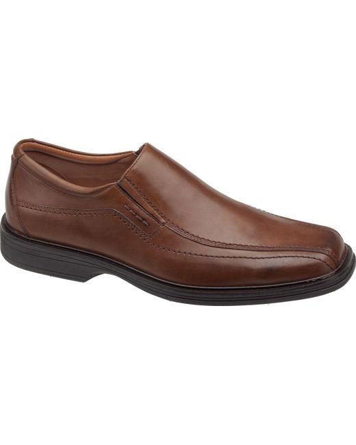 jos a bank johnston murphy penn slip on shoes in brown