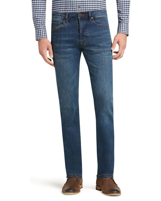 Jos. A. Bank - Blue 1905 Collection Tailored Fit Jeans for Men - Lyst