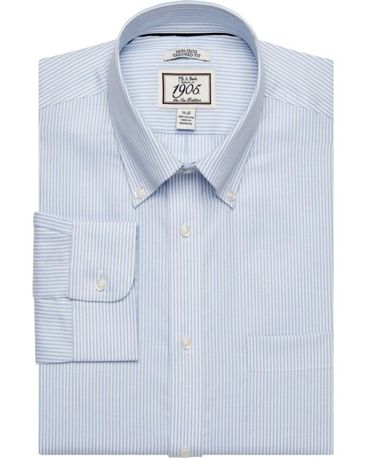 Lyst jos a bank 1905 collection button down collar for Joseph banks dress shirts