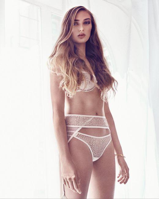 Taryn Winters - Pink Sabine Demi Bra - Lyst