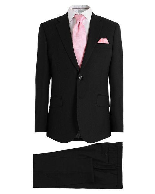Paul Smith | Black Tailored Fit Wool Suit for Men | Lyst