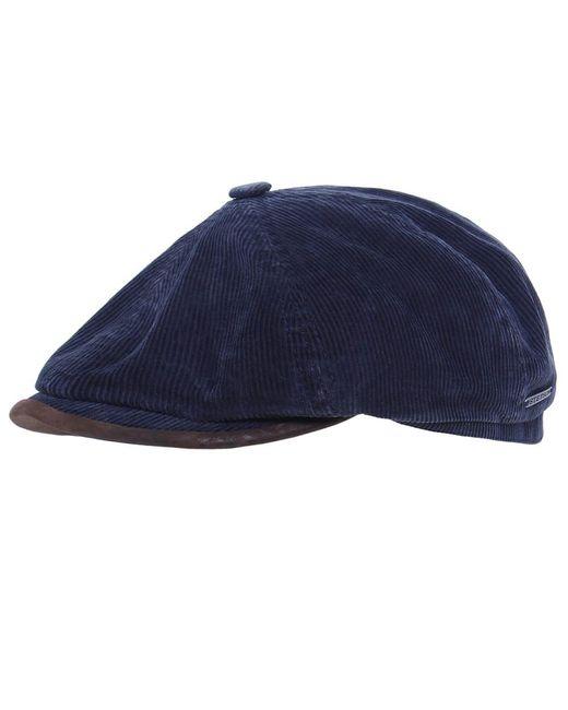 Stetson - Blue Oregon Corduroy Cap for Men - Lyst