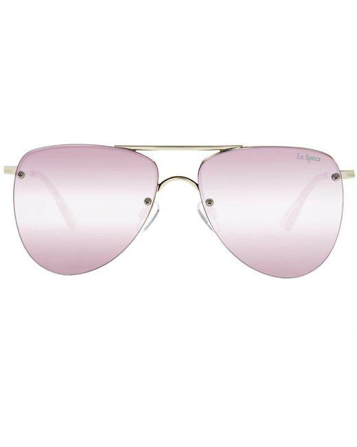 Le Specs | Metallic The Prince Sunglasses for Men | Lyst