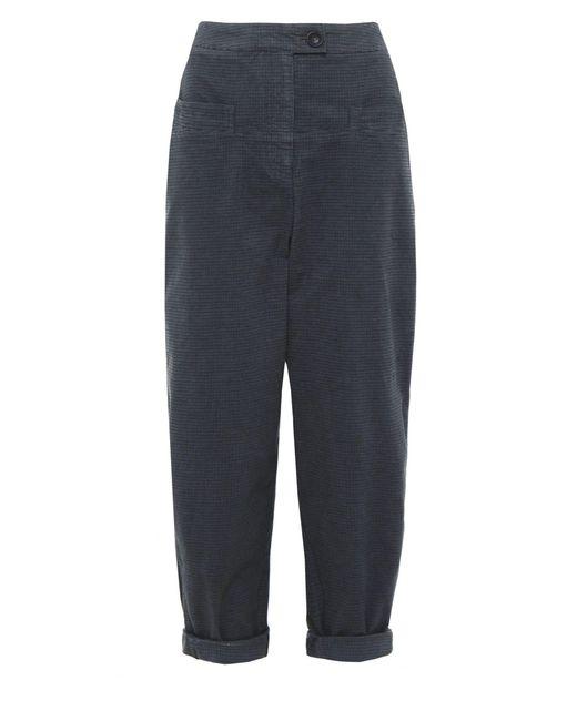 Oska - Blue Steja Checked Trousers - Lyst