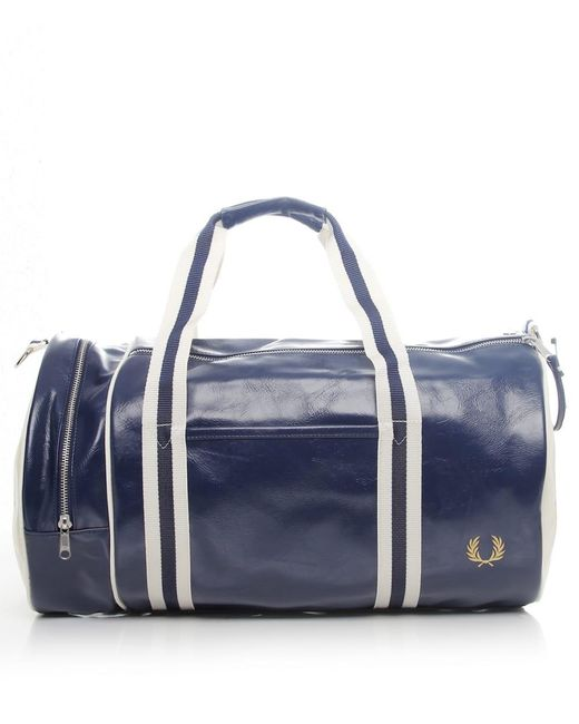 Fred Perry | Blue Classic Barrel Bag for Men | Lyst
