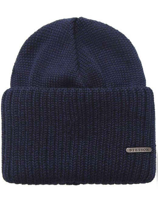 Stetson | Blue Northpoint Merino Wool Hat for Men | Lyst