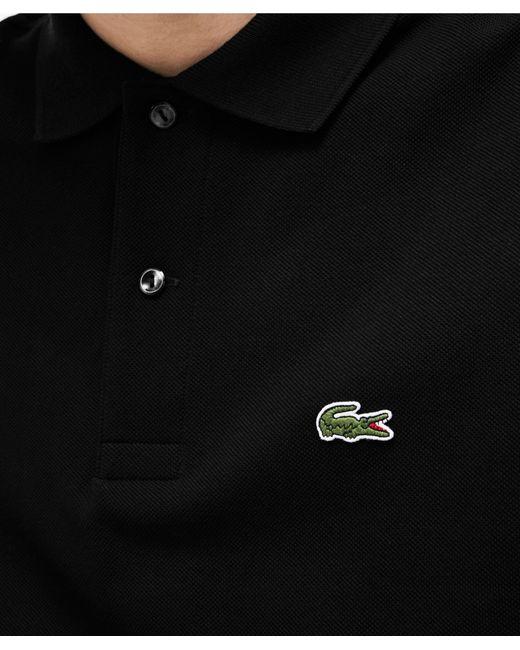 d5cb27c581dc5 ... Lacoste - Black Classic Fit Long Sleeve Polo Shirt for Men - Lyst
