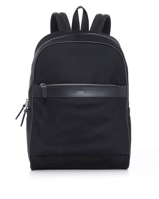 HUGO   Black Digital L_backp S17 Backpack for Men   Lyst