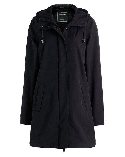 Ilse Jacobsen - Black Lightweight Hooded Raincoat - Lyst