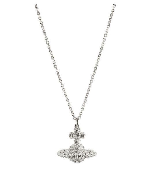 Vivienne Westwood | Metallic Grace Small Pendant Necklace | Lyst