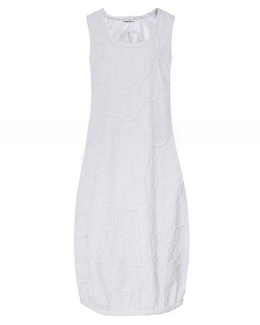 Crea Concept - Natural Textured Circle Dress - Lyst