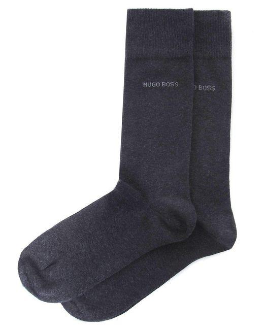 BOSS - Gray Two Pack Of Socks for Men - Lyst