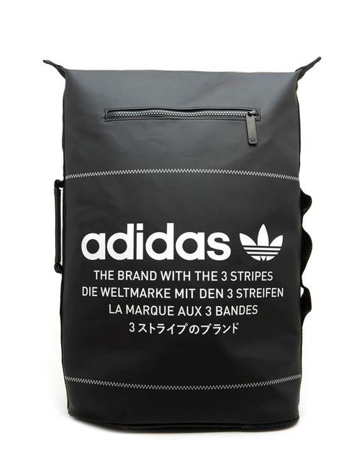 Adidas Originals - Black  nmd  Backpack for Men - Lyst ... 6fb44f79fb78e