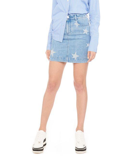 Stella McCartney - Blue Stars Skirt - Lyst