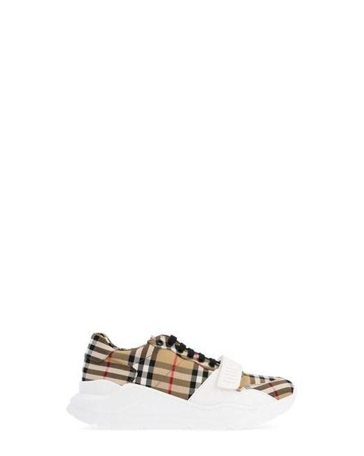Burberry Multicolor Sneakers Regis Check for men
