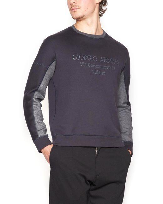Giorgio Armani - Multicolor 6zsm50sjsxzubvn for Men - Lyst