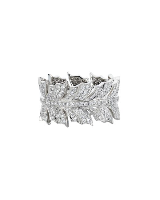 Stephen Webster - Metallic Magnipheasant Feather Band Ring - Lyst