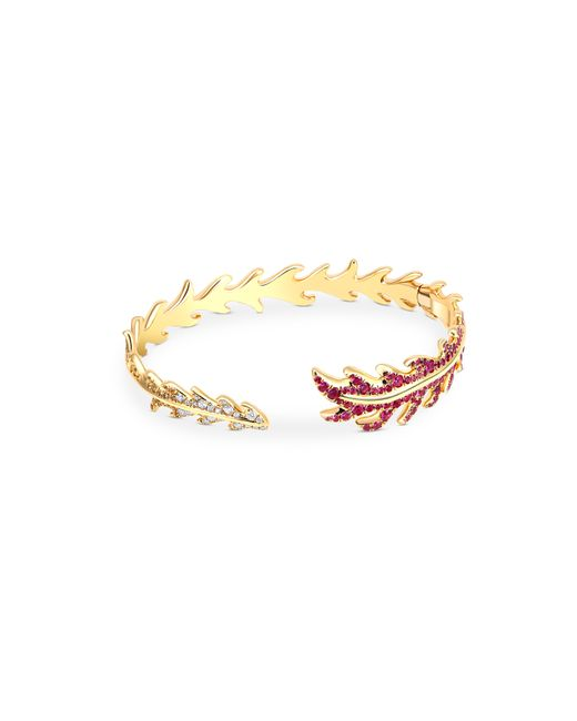 Mimi So - Metallic Phoenix Open Cuff Bracelet - Lyst