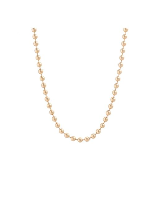 "Allison Read Smith | Metallic Gold 30"" Chain Necklace 