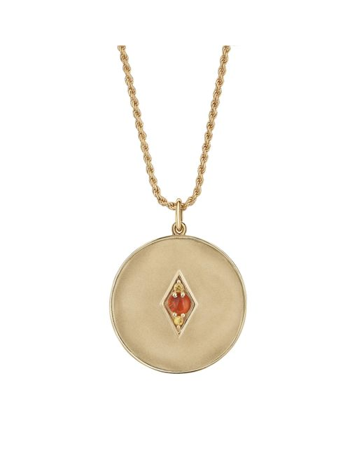 Venyx - Metallic Gemini Coin Pendant - Lyst