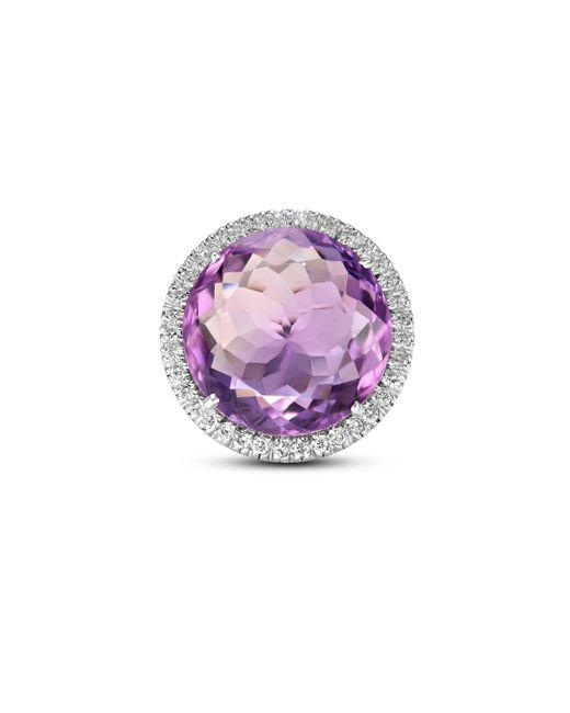 Sanjay Kasliwal - Metallic Amethyst Diamond Ring - Lyst
