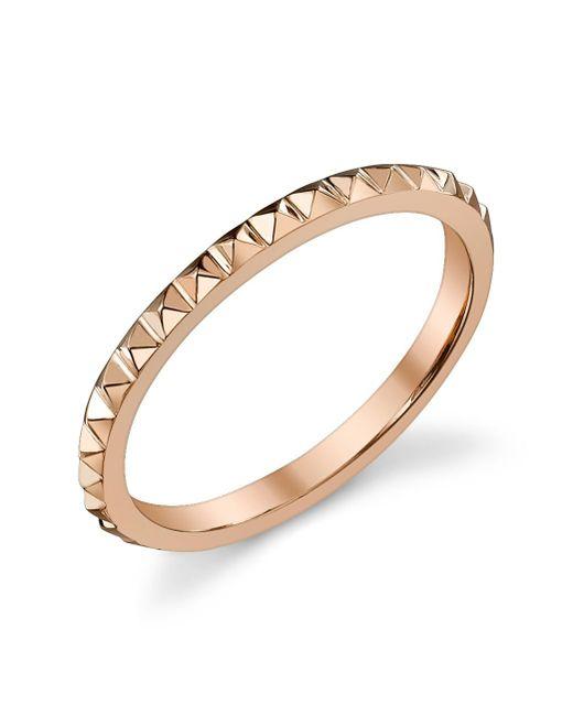 Anita Ko   Metallic Eternity Spike Rose Gold Ring   Lyst