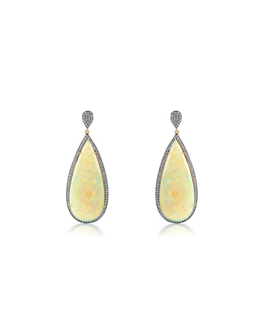 Sanjay Kasliwal - Metallic Opal Earrings - Lyst