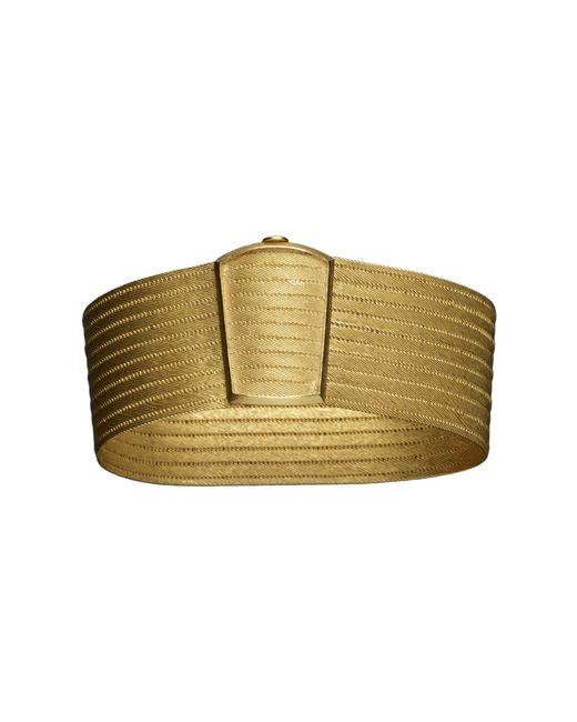 Kirat Young - Metallic Gold Cuff - Lyst