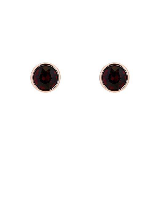 Karen Millen - Metallic Gem Stud Earrings - Lyst