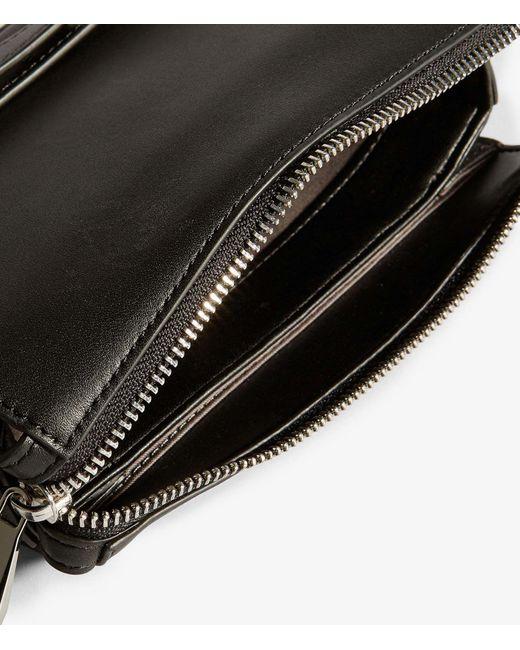 ... Karen Millen - Black Compact Crossbody Bag - Lyst ... 451541226807f