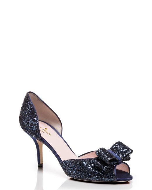 Kate Spade | Blue Sela Heels | Lyst