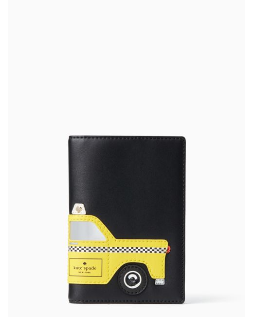 Kate Spade | Multicolor Nouveau York Taxi Passport Holder | Lyst