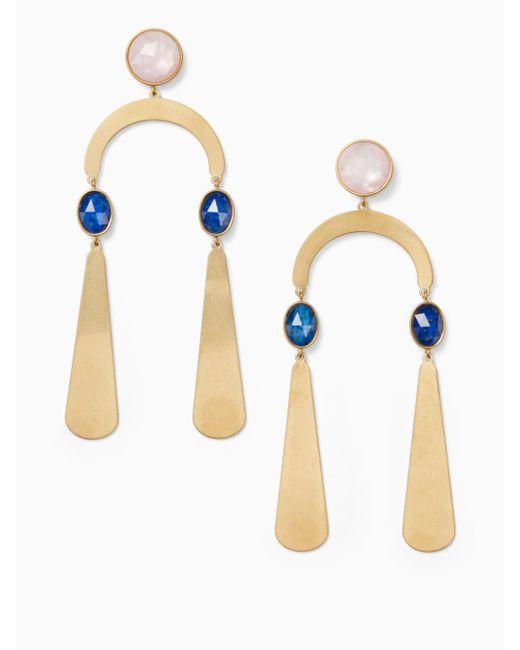 Kate Spade - Multicolor Sunshine Stones Mobile Statement Earrings - Lyst