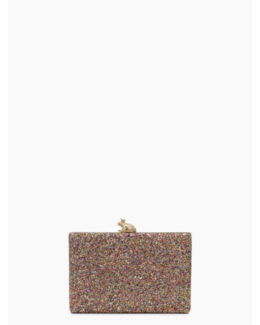 Kate Spade | Multicolor I Kissed A Frog Multi Clutch | Lyst