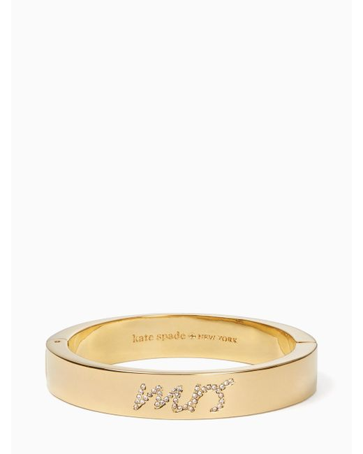 Kate Spade - Multicolor Her Day To Shine Mrs. Bangle - Lyst