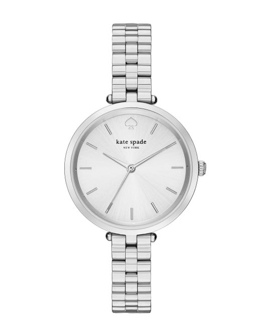 Kate Spade | Metallic Holland Skinny Bracelet Watch | Lyst