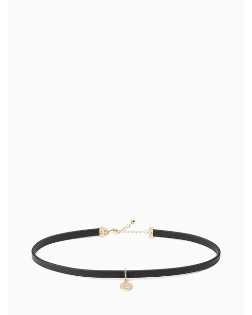 Kate Spade   Multicolor One In A Million Initial Choker   Lyst