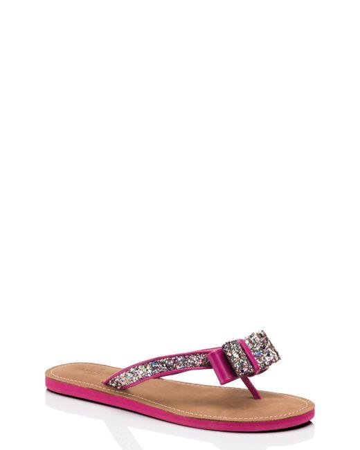 Kate Spade | Pink Icarda Sandals | Lyst