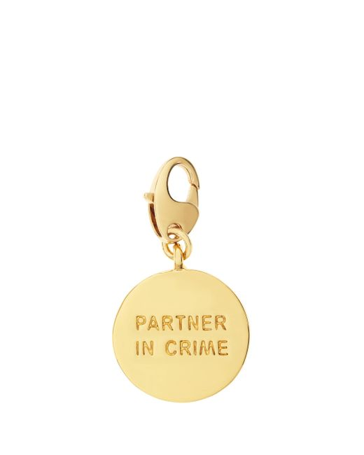Kate Spade - Metallic Partners In Crime Charm - Lyst