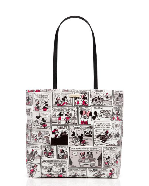 Kate Spade - Multicolor For Minnie Mouse Comic Tote - Lyst