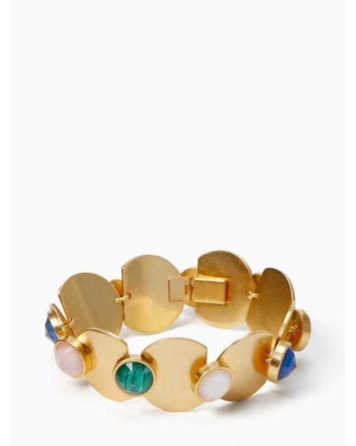 Kate Spade - Multicolor Sunshine Stones Bracelet - Lyst