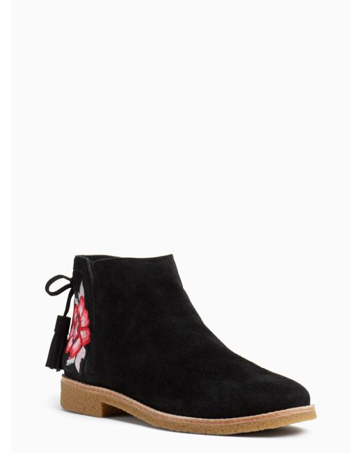 Kate Spade | Black Bellville Boots | Lyst