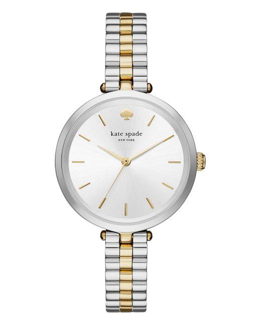 kate spade new york | White Holland Skinny Bracelet Watch | Lyst